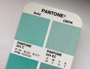 Pantone spot colour